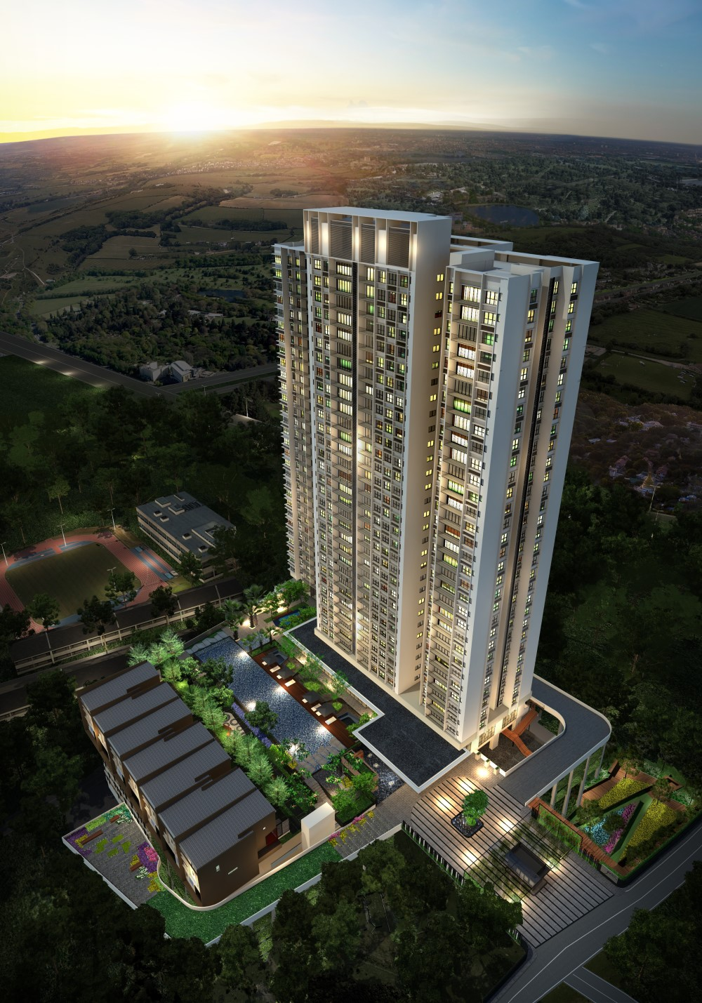Emerging immigration destination in Hong Kong – Kuala Lumpur  Upscale residence, genKL, neighboring Bandar Malaysia, starts from RM 1M