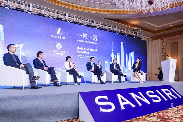 Sansiri and Golden Emperor Properties hosts the Belt and