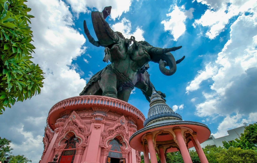 Erawan Museum: Into the Belly of a Giant Three-Headed Elephant in Bangkok, Thailand
