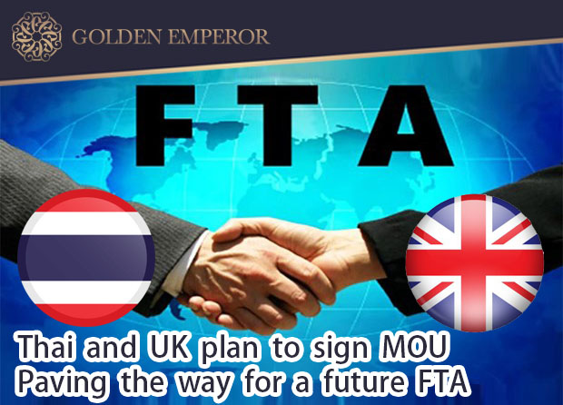 Thai-UK pact sets stage for agreement negotiations