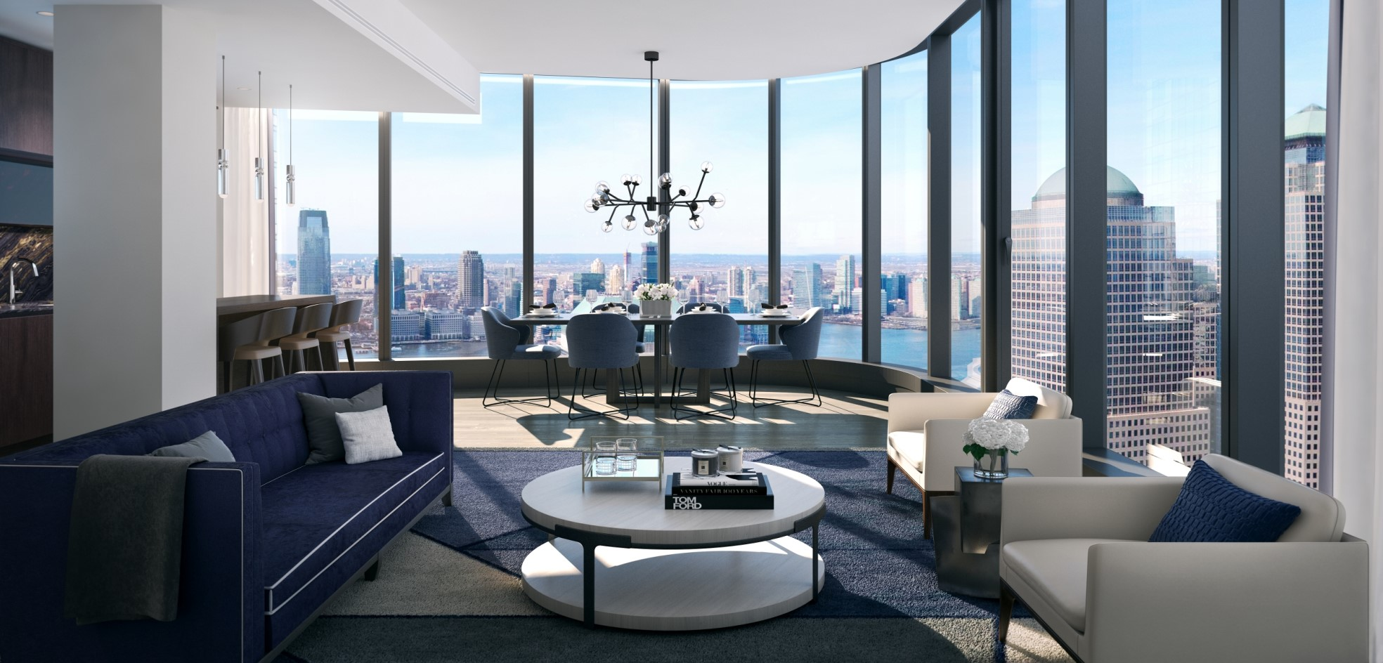 ROBUST U.S. ECONOMY – PRIME TIME FOR REAL ESTATE INVESTMENT  125 Greenwich – Residential skyscraper in Manhattan's financial district