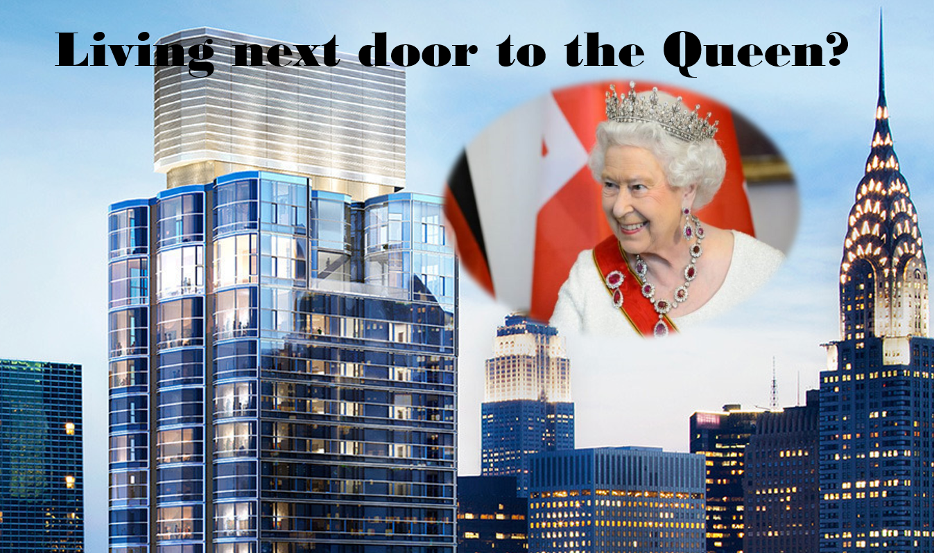 YOU CAN BE QUEEN ELIZABETH'S NEIGHBOR IN NYC FOR $30,000 A MONTH
