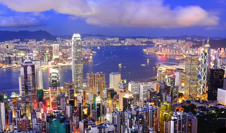 Why HK is a distribution center for property projects worldwide