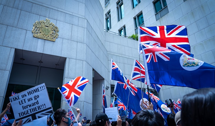 Immigration Consultant Ivan Yam talks to Reuters  on UK's newly-proposed BNO policy