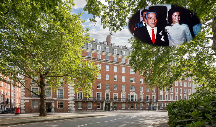 Inside the legendary Onassis £25 million home in Mayfair snapped up in less than 24 hours