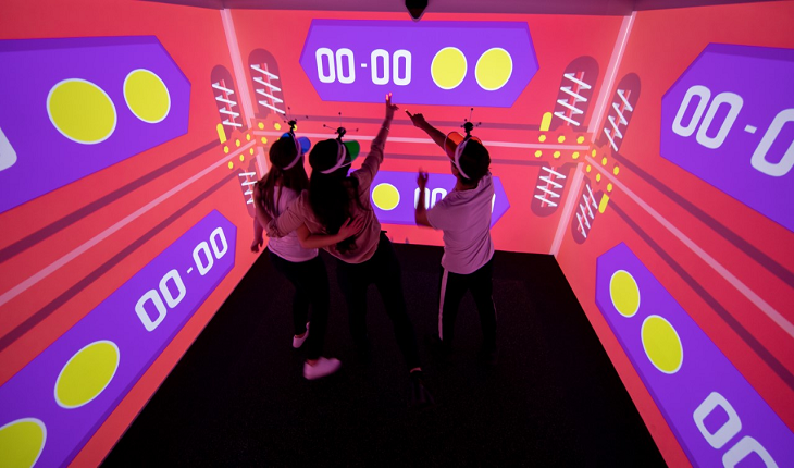 Inside Manchester Arndale's new gaming attraction Electric Playbox