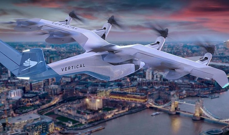 VERTICAL AEROSPACE FLYING TAXIS COULD SERVE LONDON TO BRIGHTON IN 30 MINUTES