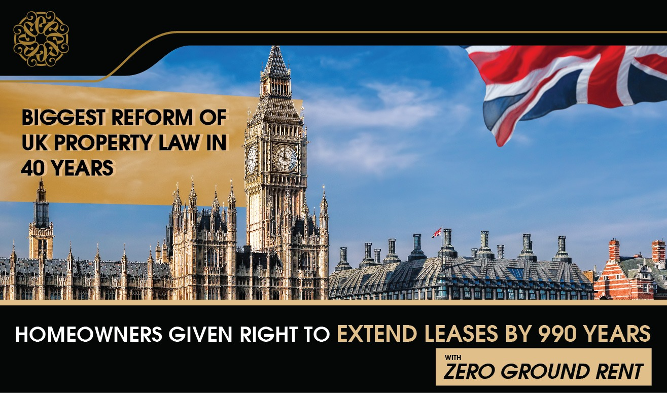 Biggest Reform of UK Property Law in 40 Years