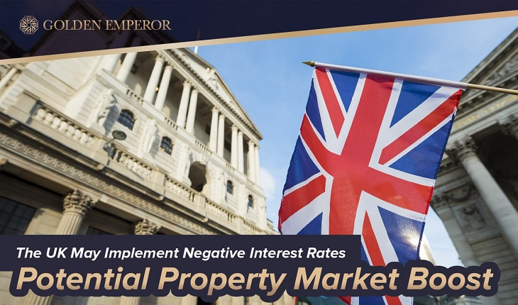 Bank of England May Implement Negative Interest Rates Potential Property Market Boost