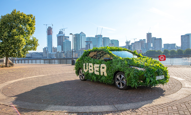 Uber Green launches in London