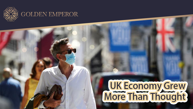 UK economy grew more than thought