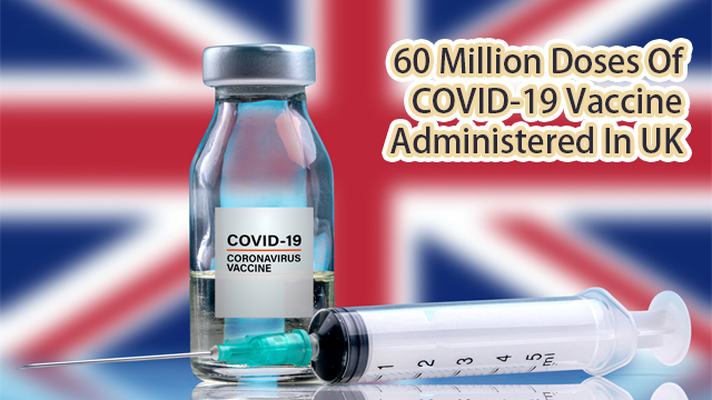 60 million doses of COVID-19 vaccine administered in UK