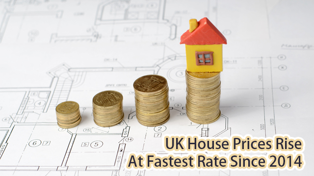 UK house prices rise at fastest rate since 2014