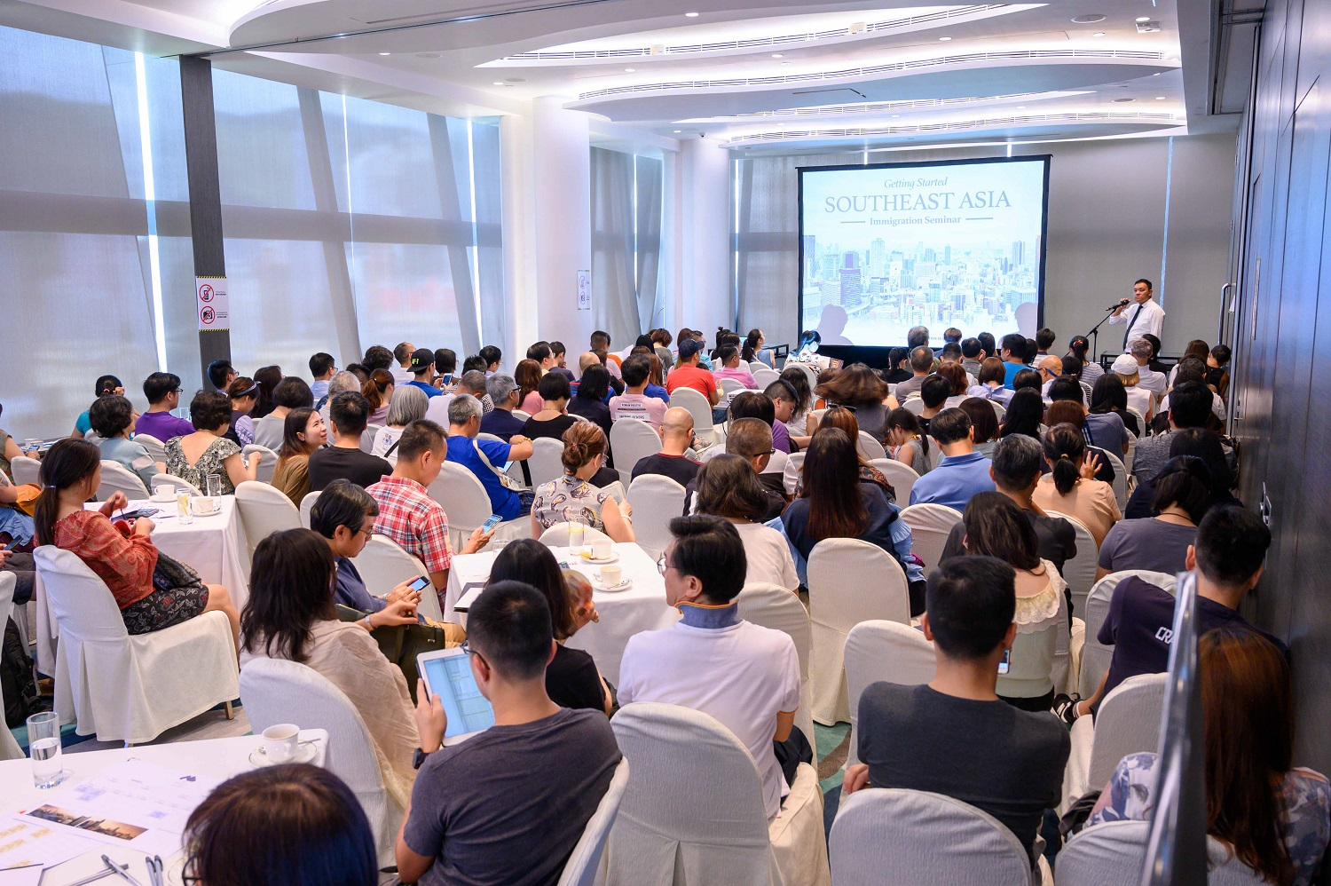 Immigration inquiry rate to Southeast Asia spursGolden Emperor Properties' exclusive seminar attracts nearly 1,000 participants