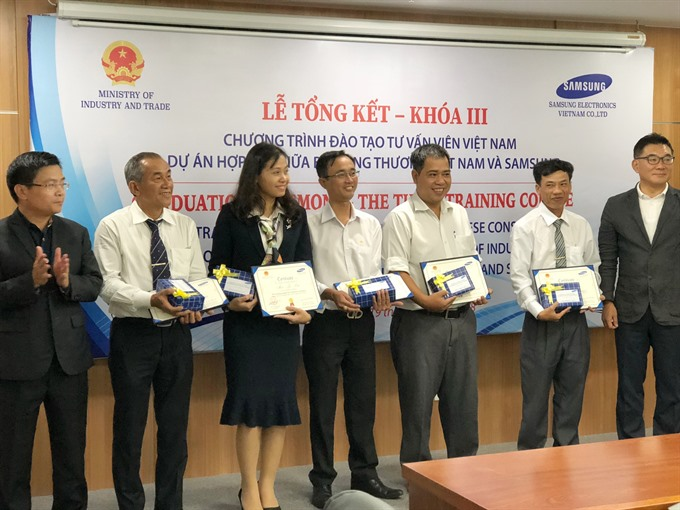Samsung to train 100 Vietnamese consultants this year