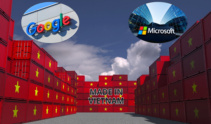 Google, Microsoft shift production from China faster due to virus