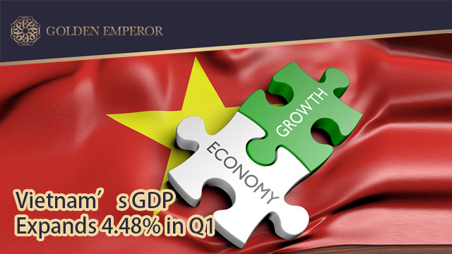 Vietnam's GDP expands 4.48% in Q1 under Covid-19 impacts