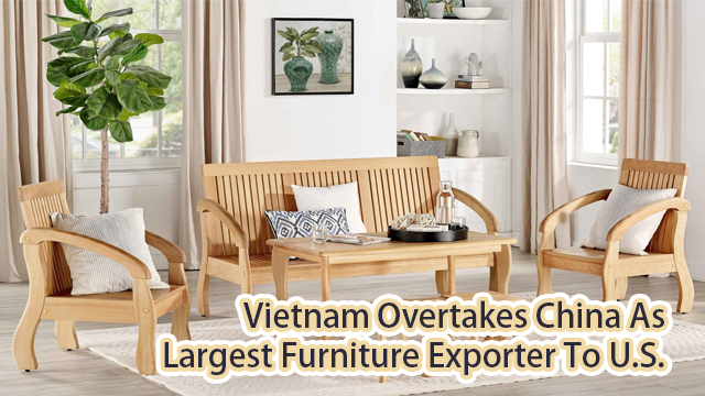 Vietnam overtakes China as largest exporter to U.S.